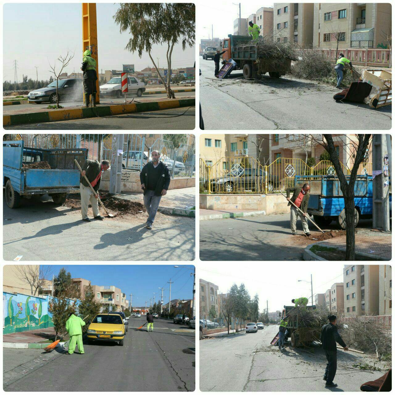آغاز طرح پاکسازی محله ای در شهر پرند