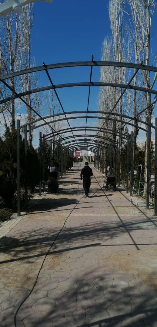 آغاز عملیات اجرای ساخت بزرگترین تونل نور و طبیعت تهران در پرند