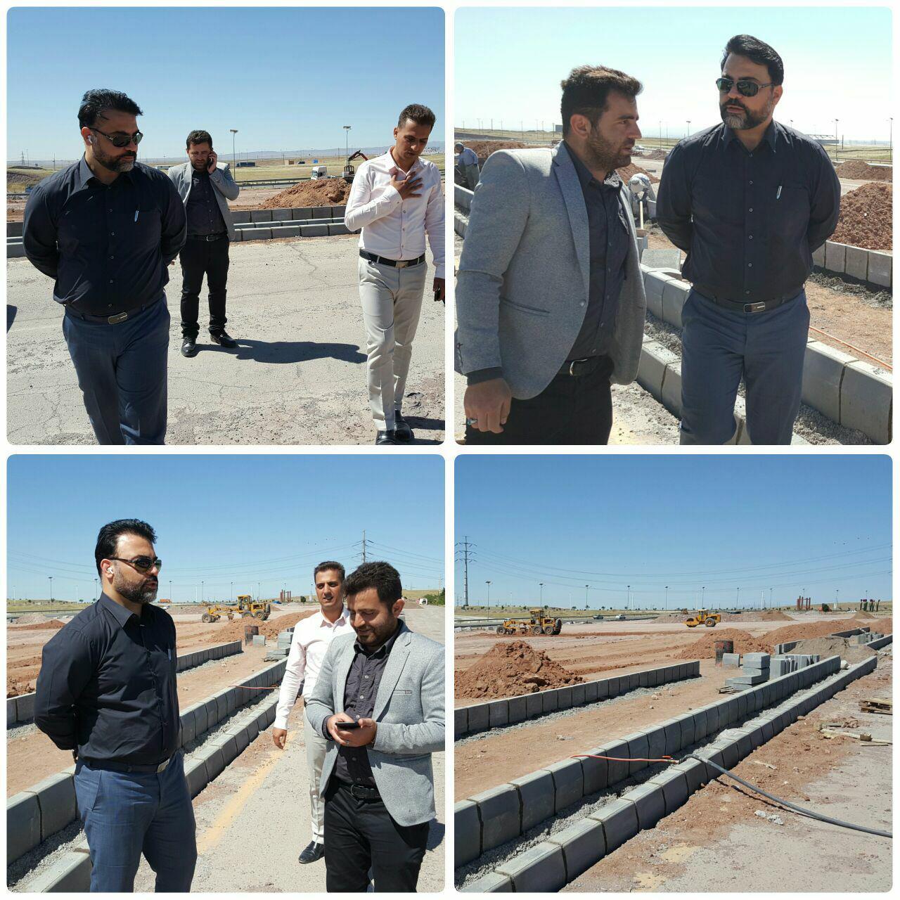 مهندس عرب تاکید کرد؛ توسعه زیرساخت ها؛ اولویت نخست شهرداری پرند در سال جاری