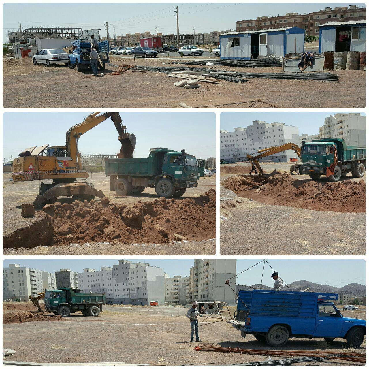 عملیات اجرایی احداث زورخانه در پرند آغاز شد / اهتمام جدی شهرداری پرند بر توسعه اماکن ورزشی