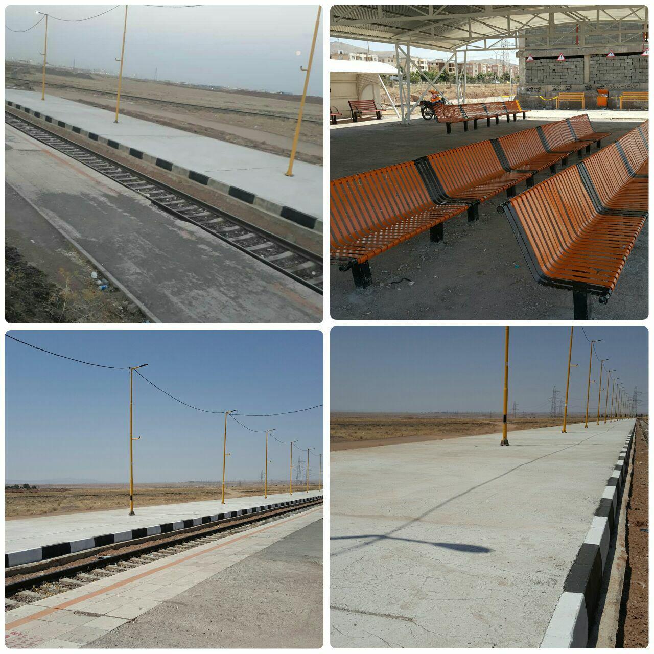 سکوی دوم ایستگاه ریل باس پرند؛ آماده افتتاح / مجموعه اقدامات معاونت خدمات شهری و فضای سبز شهرداری در تکمیل پروژه ریل باس