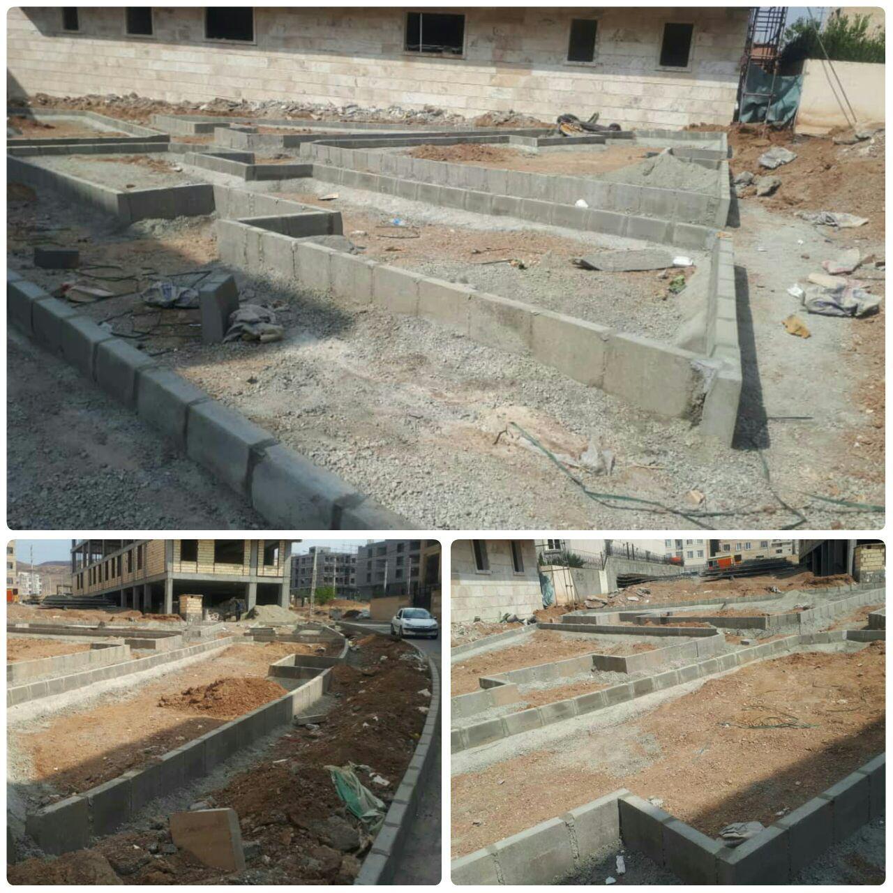احداث پارک محله ای علیصدر در فاز صفر شهر پرند