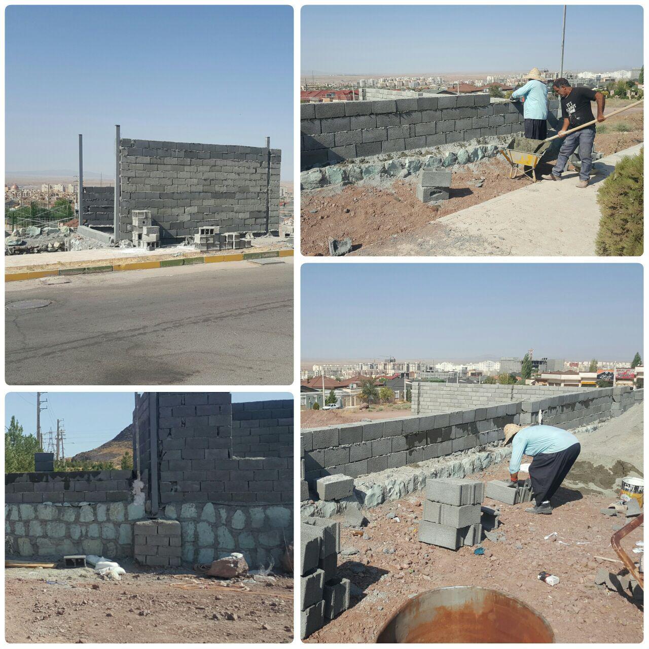 روند پُر شتاب پروژه های عمرانی در پرند / احداث ساختمان مجموعه ورزشی شمشاد