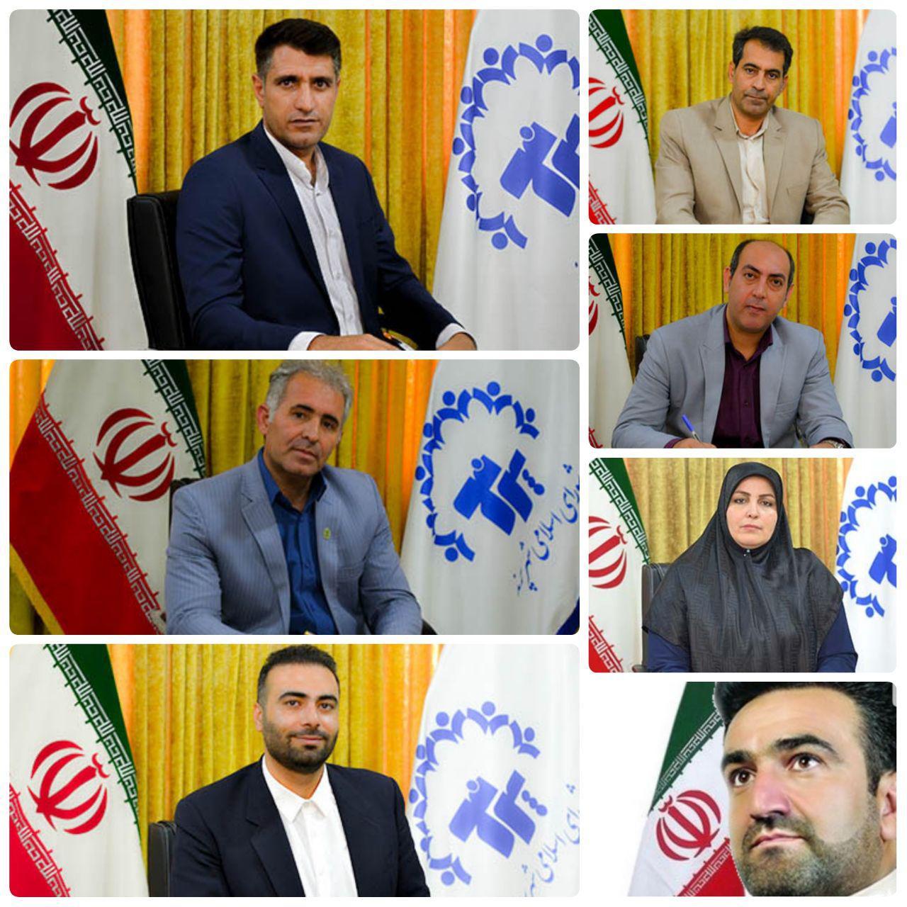 انتخاب هیات رئیسه جدید شورای اسلامی شهر پرند