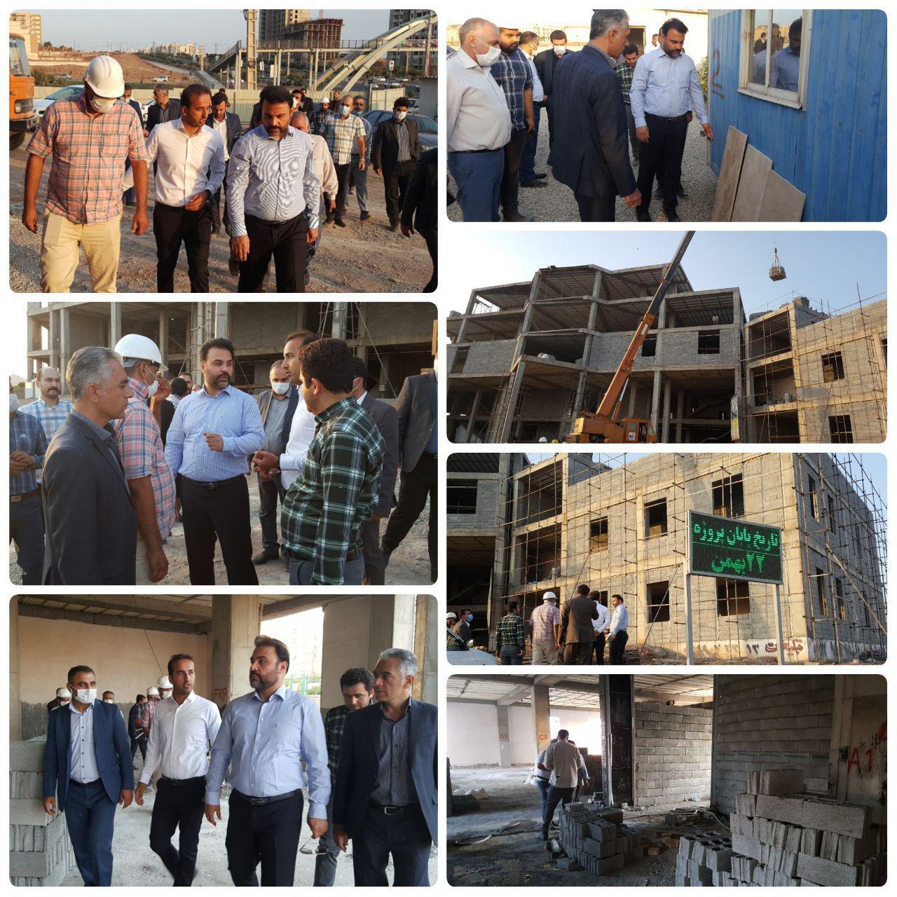 روند پرشتاب احداث ساختمان مرکزی شهرداری پرند / شهرداری پرند برای نخستین بار صاحب خانه می شود