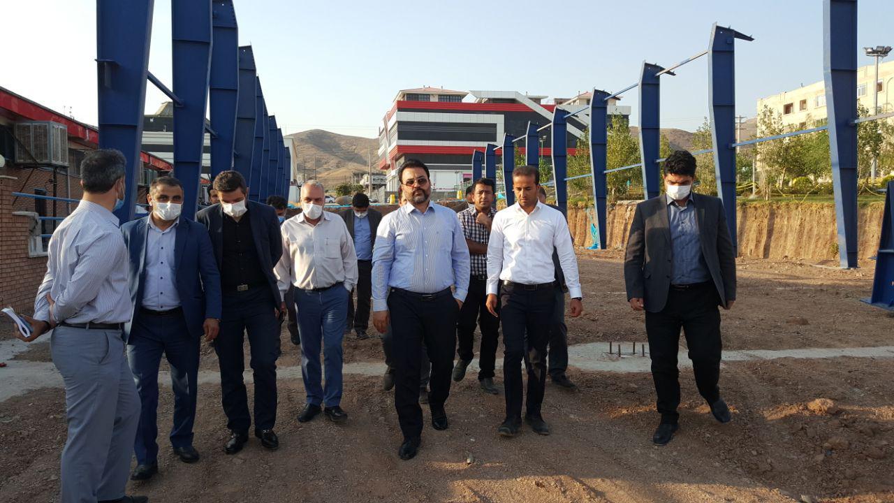 خیز دوم پروژه های عمرانی شهرداری و شورای اسلامی شهر پرند در سال جاری / بازدید مهندس عرب از پروژه های عمرانی
