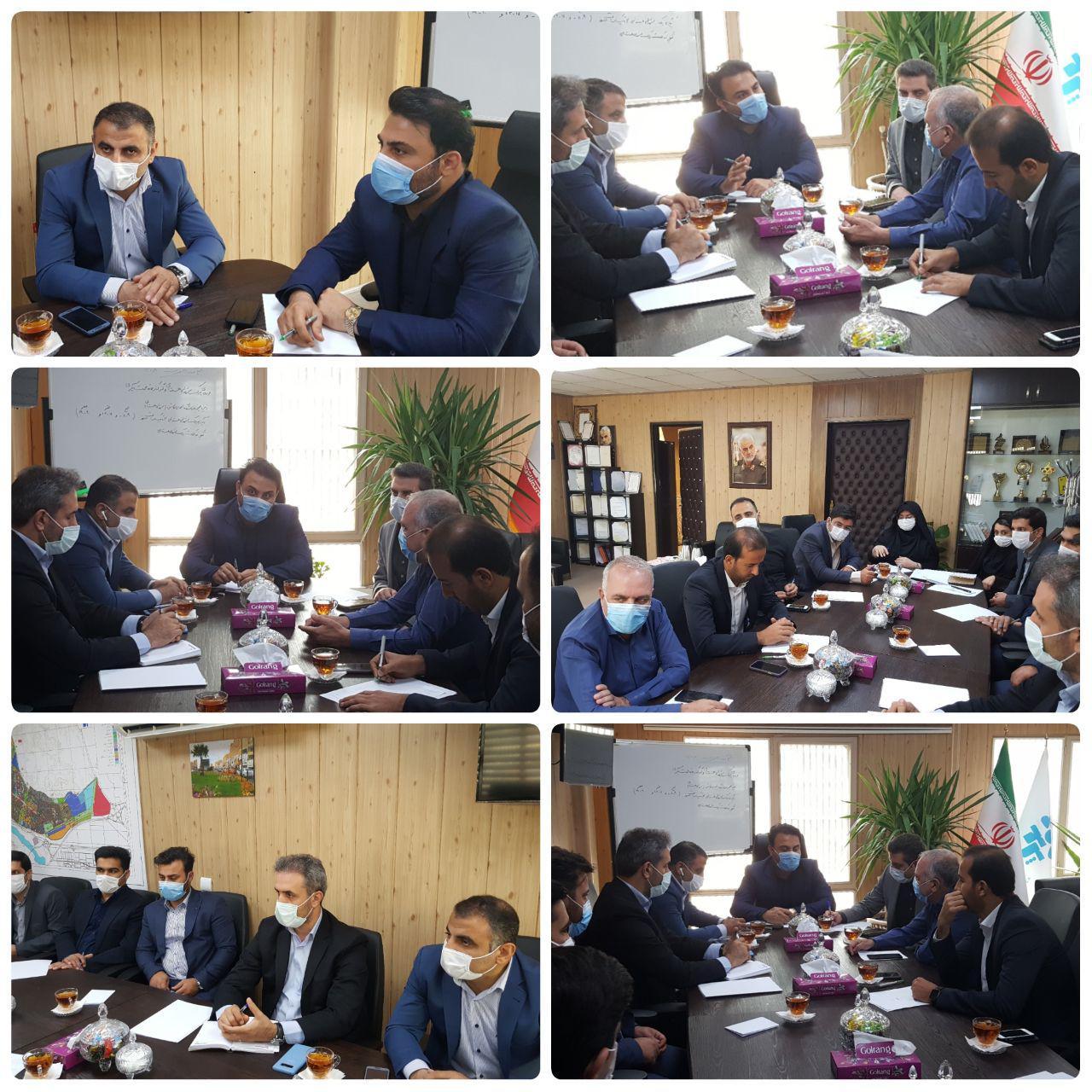 جلسه شورای معاونین شهرداری پرند برگزار شد / تاکید مهندس عرب بر خدمات رسانی شایسته به شهروندان