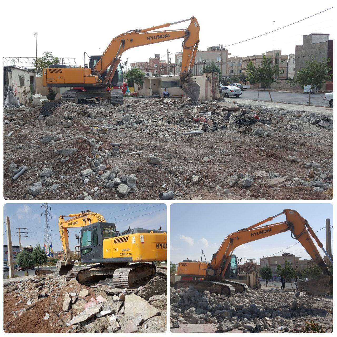 اجرای عملیات خاکبرداری سرای محله / نخستین سرای محله مدیریت شهری پرند راه اندازی می شود