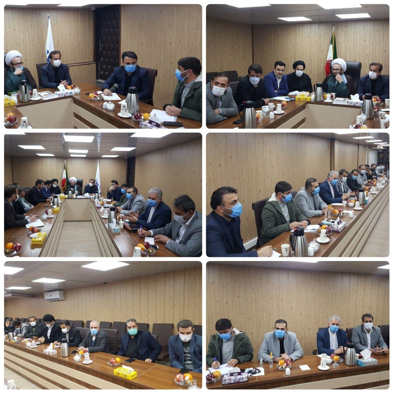 برگزاری دومین جلسه هماهنگی دستگاه های اجرایی و خدمات رسان در شهرداری پرند