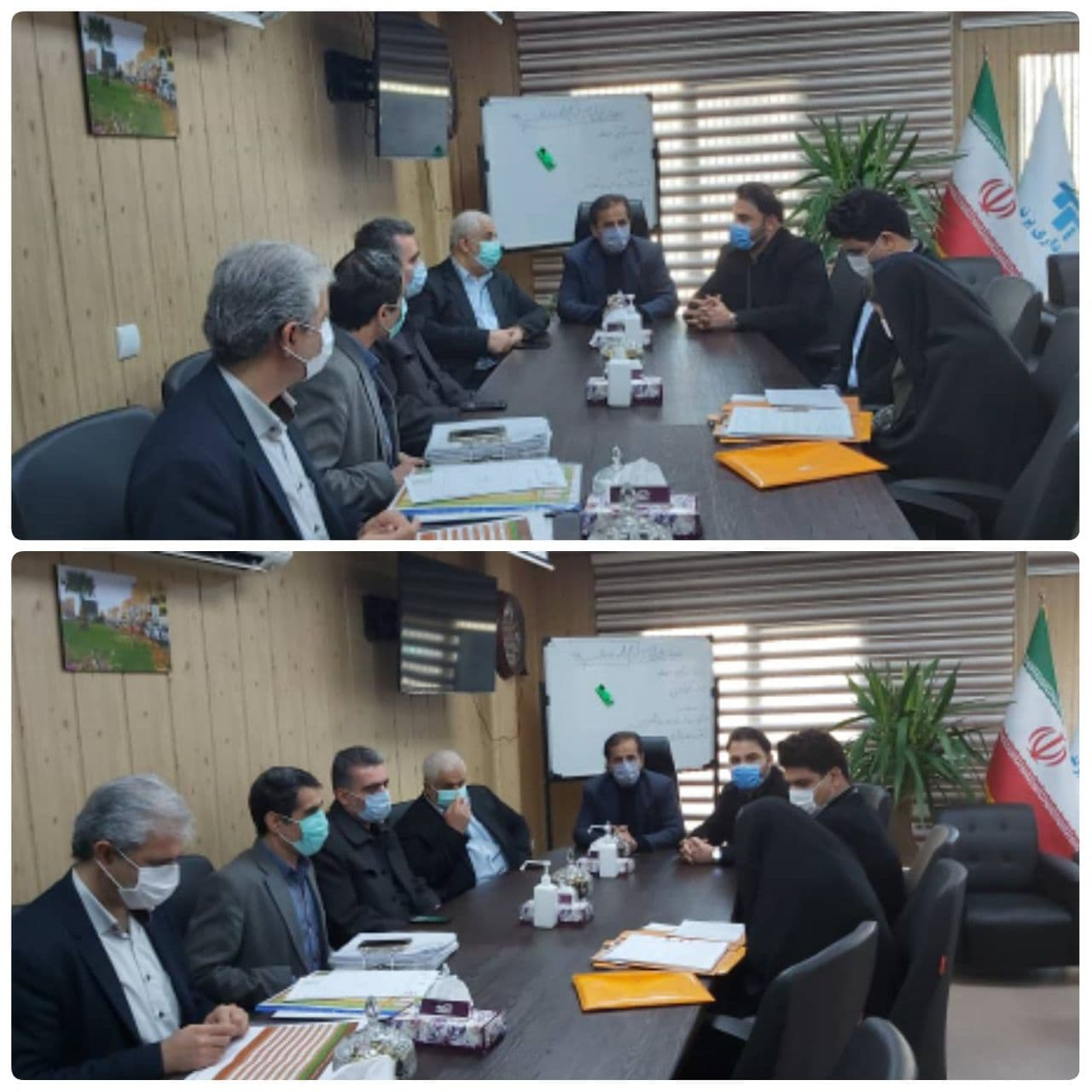 جلسه مدیر کل بنیاد شهید استان تهران با شهردار پرند
