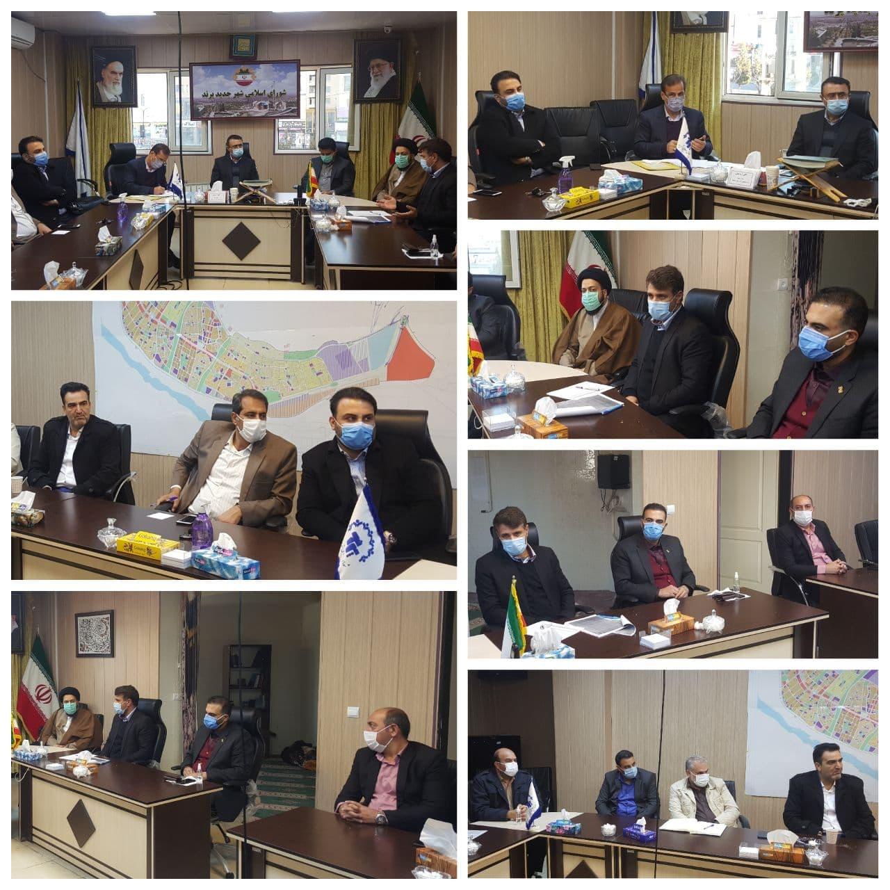جلسه پیگیری روند احداث مترو در شورای اسلامی شهر پرند