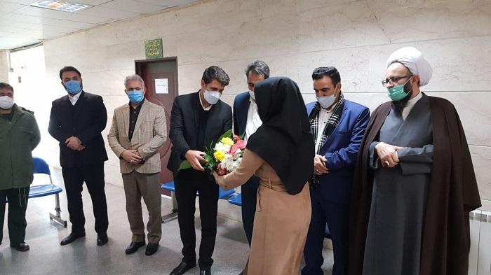 پیام تبریک شهردار و رئیس شورای اسلامی شهر پرند به مناسبت ولادت حضرت زینب س و روز پرستار