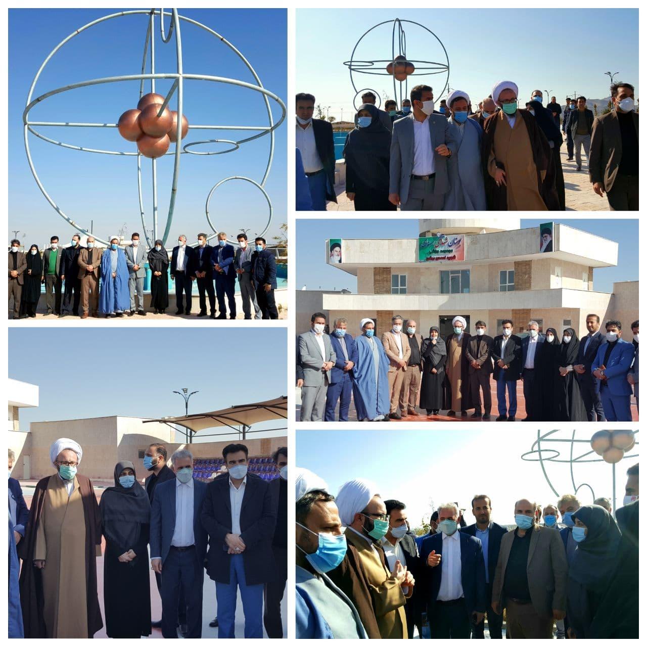 رئیس شورای اسلامی استان تهران بوستان شهدای هسته ای پرند؛ پروژه ای فاخر و شاخص در استان تهران است
