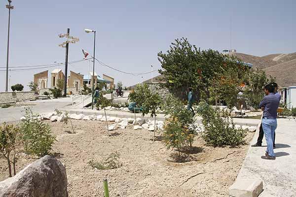 عملیات احداث اولین باغ گیاهشناسی در شهر جدید پرند آغاز شد
