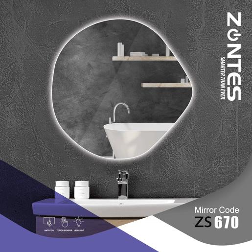آینه هوشمند مدل ZS--670
