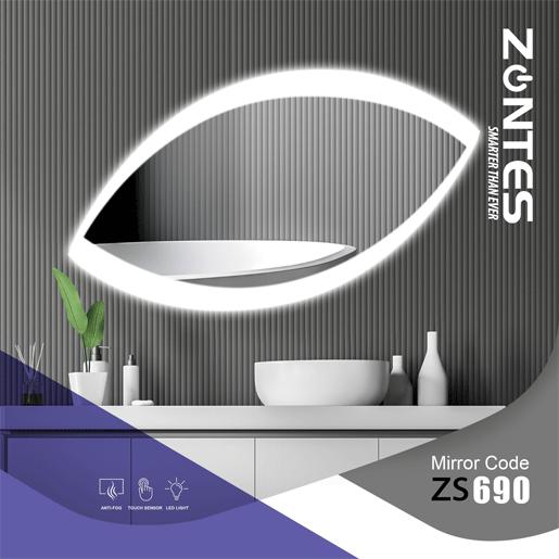 آینه هوشمند مدل ZS-690