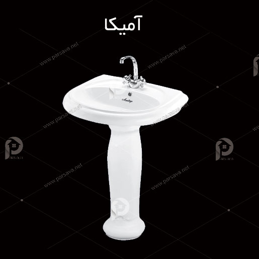 فروش سنگ روشویی مدرن آرمیتاژ مدل آمیکا