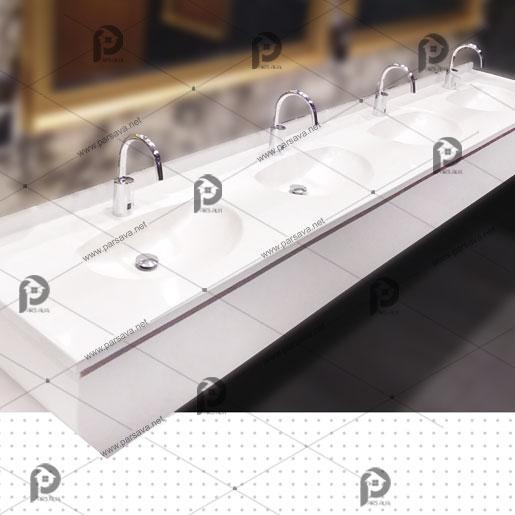 خرید سنگ روشویی سنگ سان باتیس مدل گلد