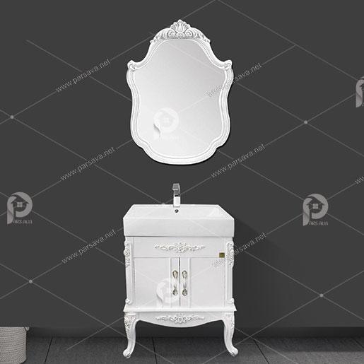 کابینت روشویی گلنز مدل سلطنتی YB 068