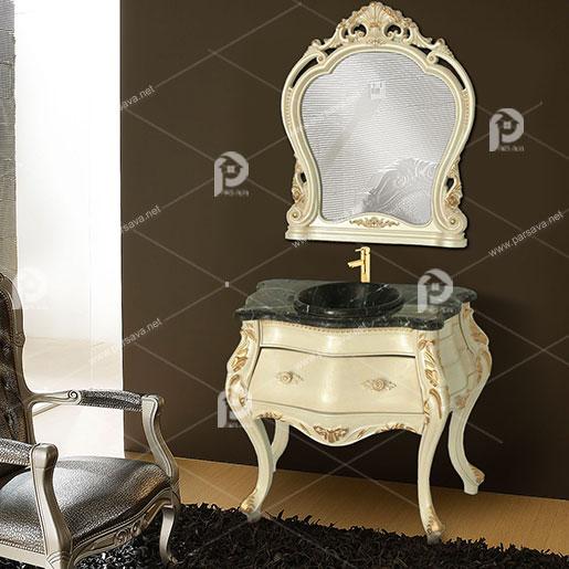 فروش انواع روشویی کابینتی یونیک کابین مدل s201