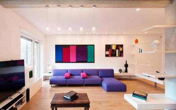 تاثیر رنگ ها در دکوراسیون داخلی