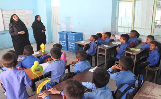 اول مهر ماه آغازآموزش مجدد طرح حامیان بازیافت در مدارس