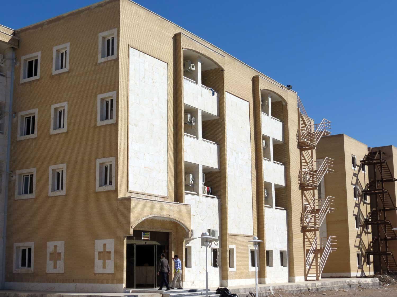 پروژه بخشی از خوابگاه های دانشگاه چمران اهواز