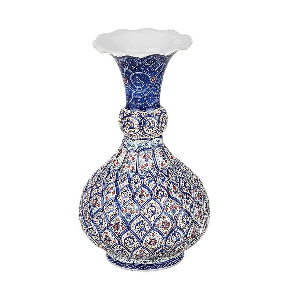 Enamel Flower Vase