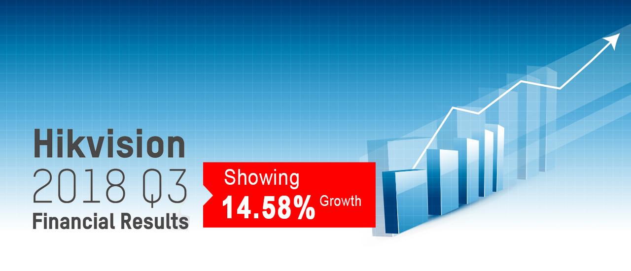 رشد 14.58درصدی هایک ویژن در فصل سوم سال مالی 2018