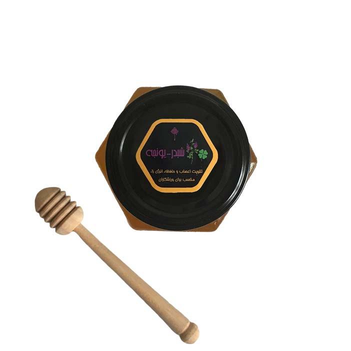 عسل شبدر یونجه (500 گرم)
