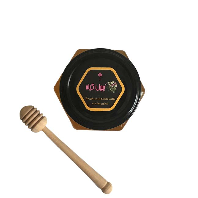 عسل چهل گیاه (500 گرم)