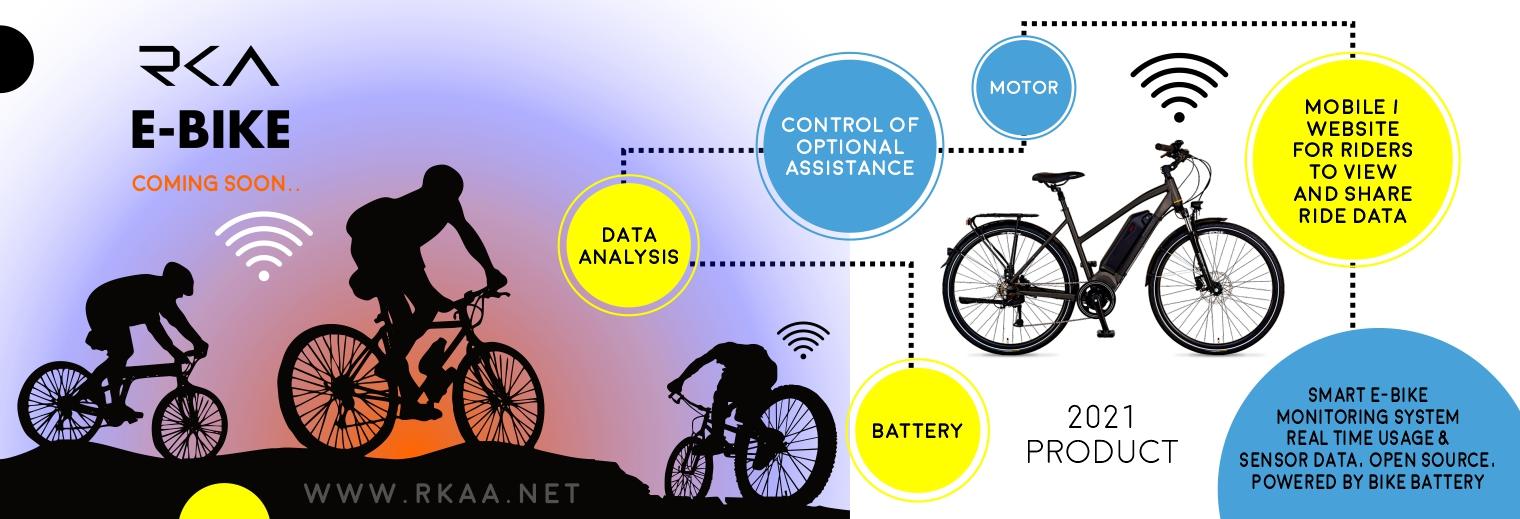 دوچرخه هوشمند برقی