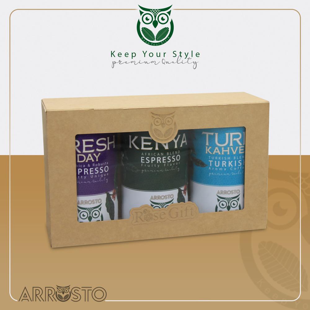 قهوه اروستو / Turk-kenya-Fresh Dye