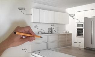 کابینت | کابینت آشپزخانه | طراحی کابینت آشپزخانه | سبک مدرن
