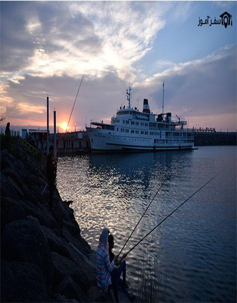 تجربه ماهیگیری