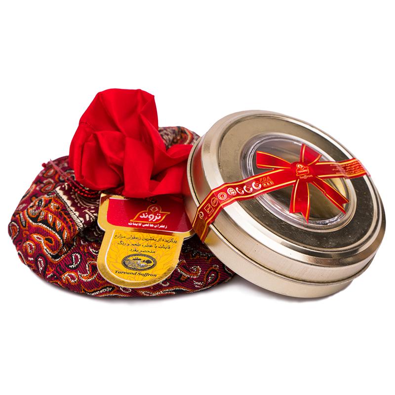 زعفران سرگل درجه یک تروند مقدار 10 گرم