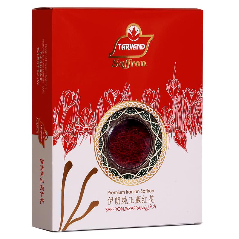 زعفران سرگل درجه یک تروند مقدار 5 گرم