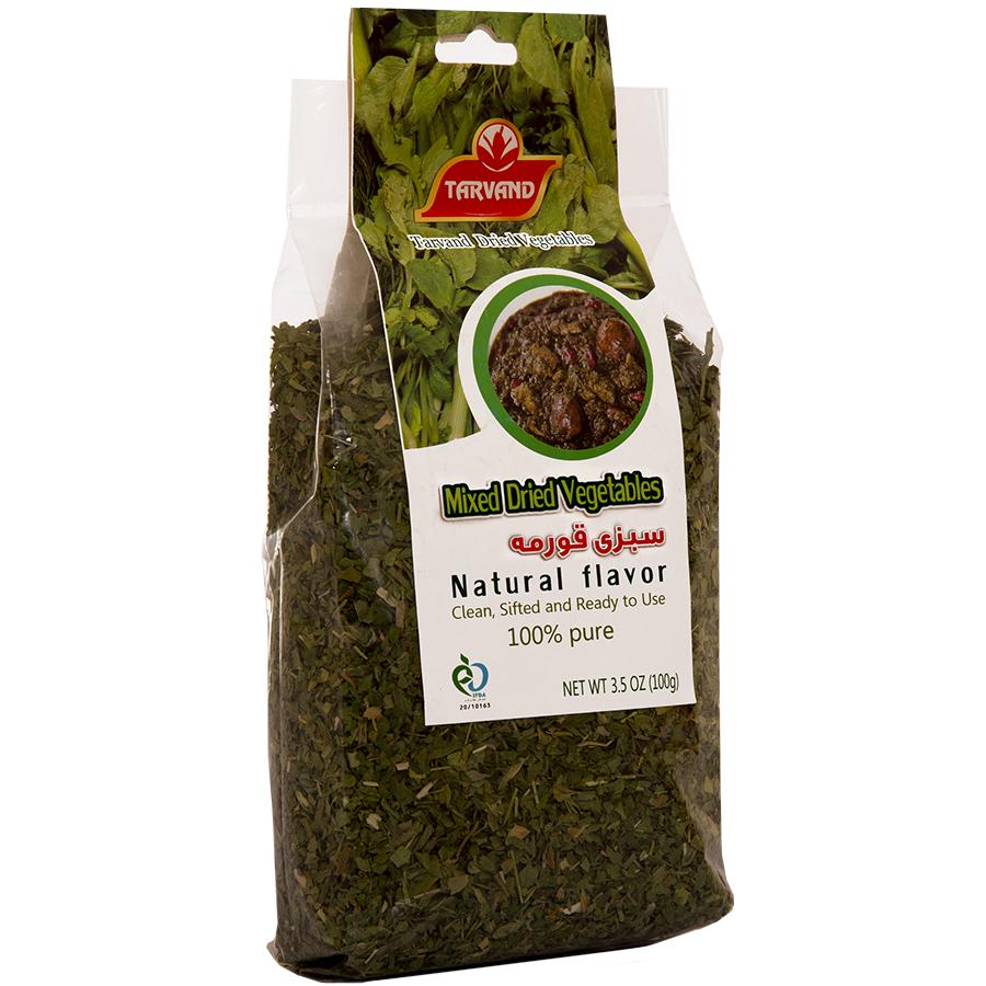 سبزی قرمه خشک تروند - 100 گرم