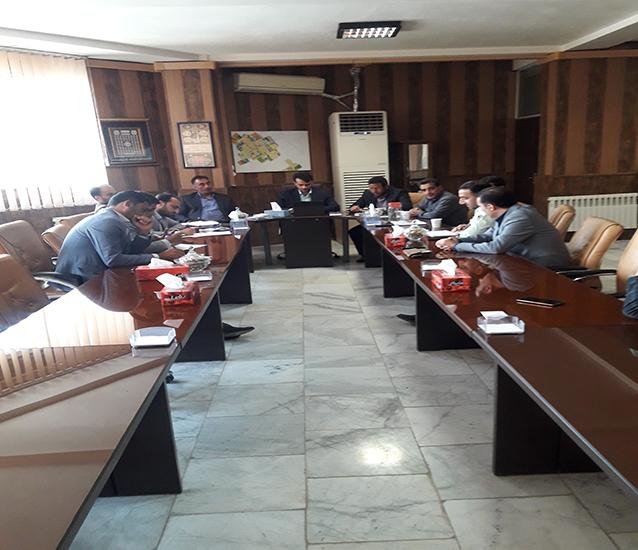 اولین جلسه شورای اداری شاهدشهر در شهرداری برگزار گردید