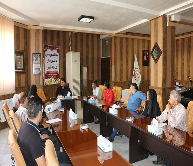 ملاقات حضوری شهردار با شهروندان