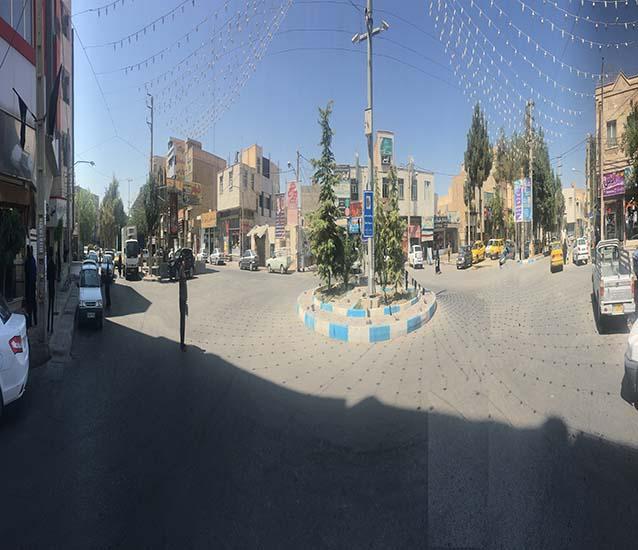 ساماندهی مرکز شهر و حاشیه میدان امام خمینی شاهدشهر