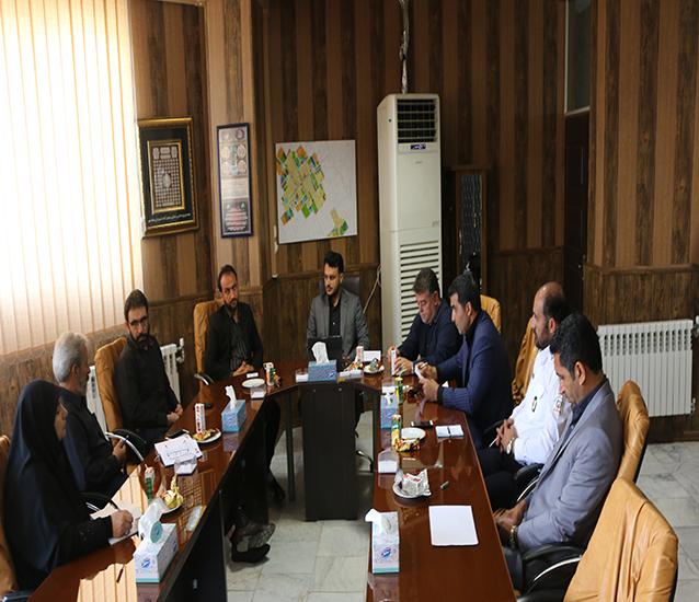 جلسه کمیسیون پدافند غیر عامل در شهرداری شاهدشهر
