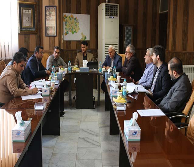 جلسه شورای اسلامی و شهردار با مسئولین کمیته امداد امام خمینی (ره) استان تهران