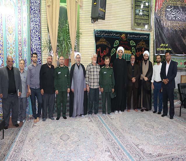 محفل انس با قرآن در مسجد ولیعصر شاهدشهر
