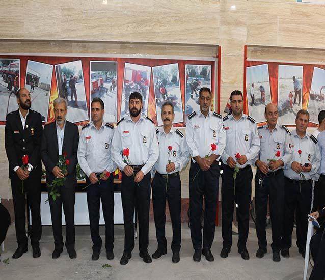 برگزاری مراسم روز آتش نشانی و ایمنی در شاهدشهر