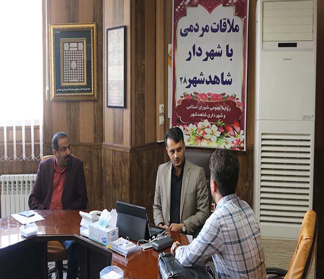 بیست و هشتمین ملاقات هفتگی شهردار با شهروندان