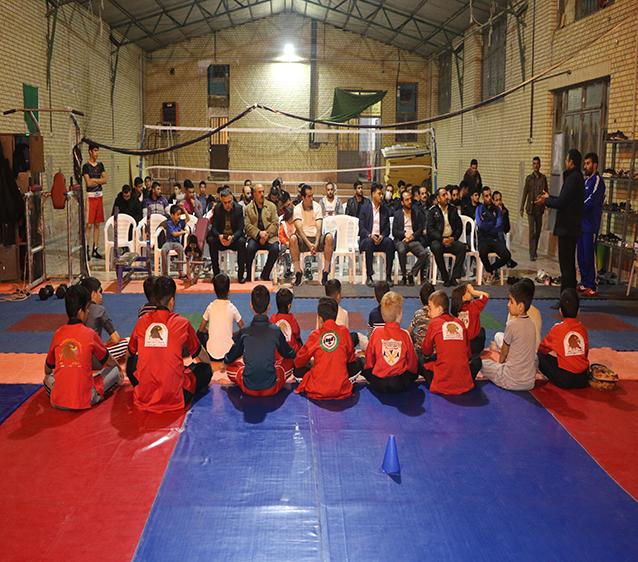 افتتاحیه سالن چند منظوره ورزشی شهرک لاله در شاهدشهر