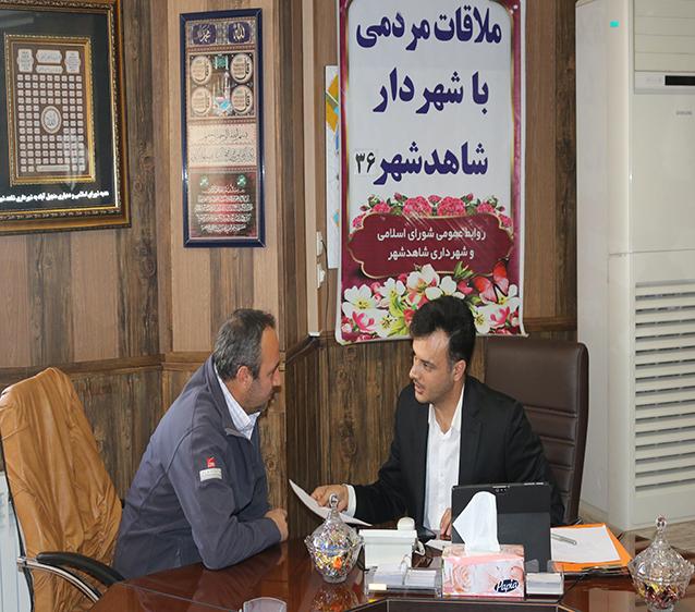 سی و ششمین دیدار هفتگی شهردار با مردم شاهدشهر