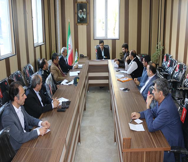 چهارمین جلسه ستاد مدیریت بحران شهرداری شاهدشهر