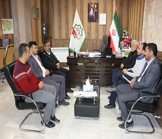 جلسه کمیته فرعی ترافیک شهرداری شاهدشهر